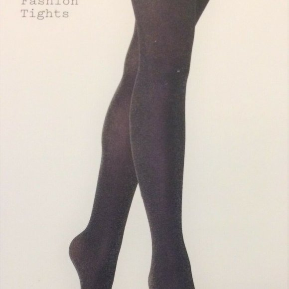 a new day Accessories - Opaque Stockings Tights A New Day Black Shimer M/L